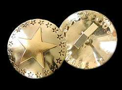 Star Cuff Links - A great gift idea