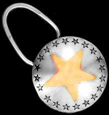 Be-Decked's Star Border Key Ring